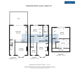 Floorplan of Kingsdown Avenue, Ealing, London, W13 9PS